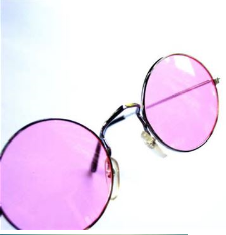 The Freedom of Rose Colored Glasses